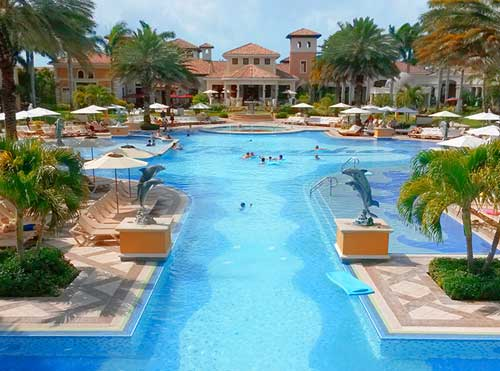 The Italian Village at Beaches Turks and Caicos resort