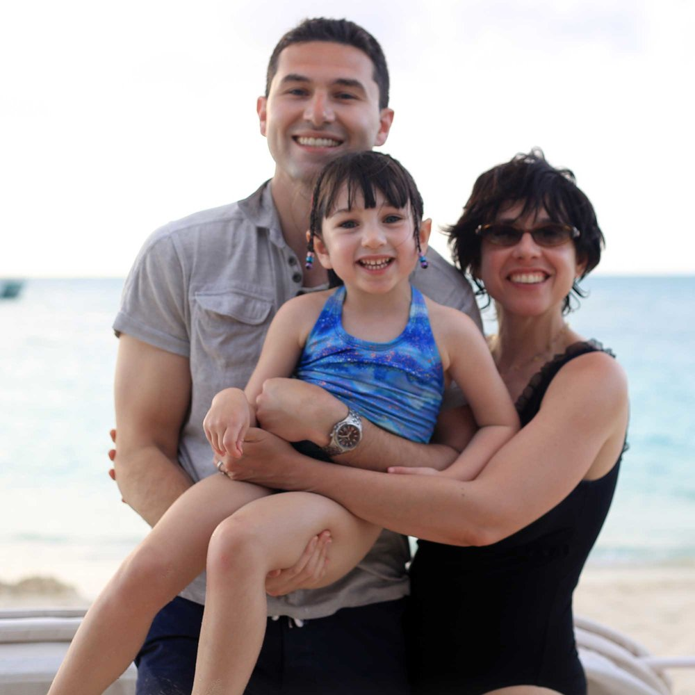 Our family at Beaches resort in Turks & Caicos.