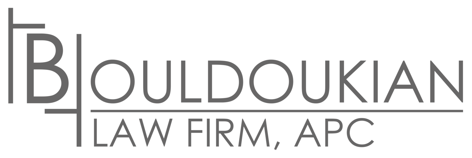 Los Angeles Bankruptcy Lawyer | Bouldoukian Law Firm