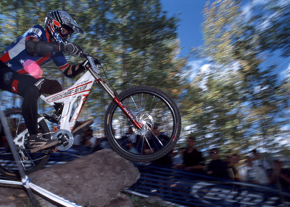 US National Team Racer  Mountain Bike World Championships.