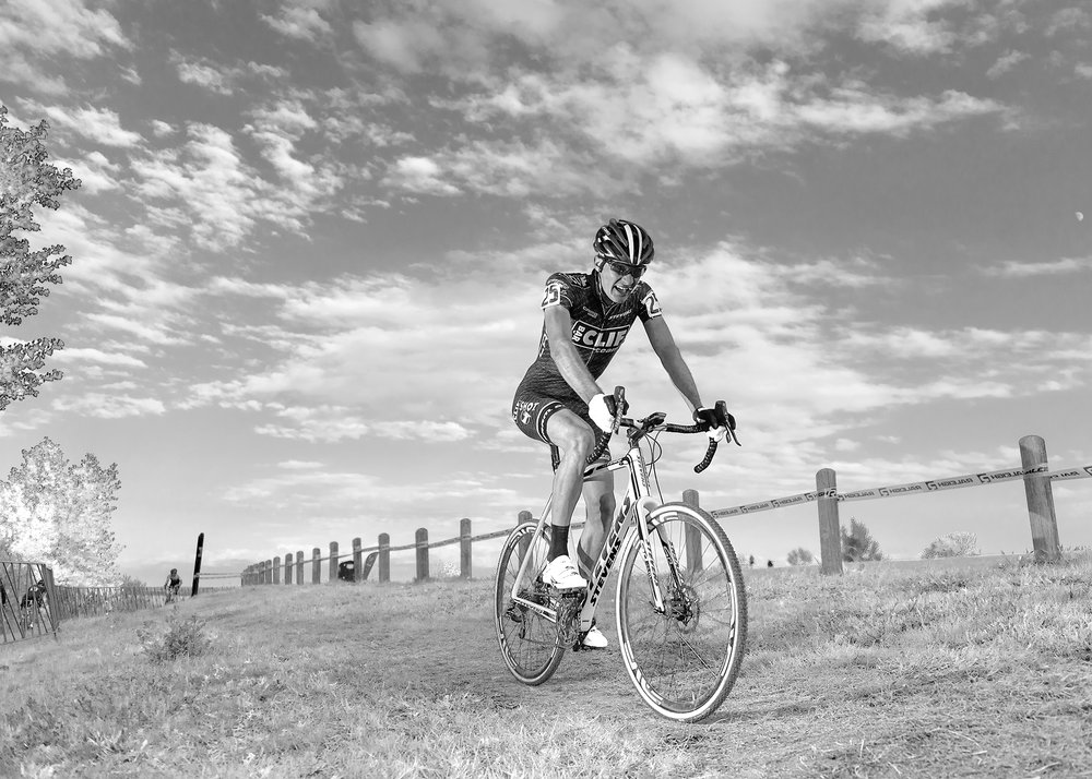 Brady Kappius  Colorado Cross Classic. Infrared Black & White. Boulder Reservoir. Boulder, CO.