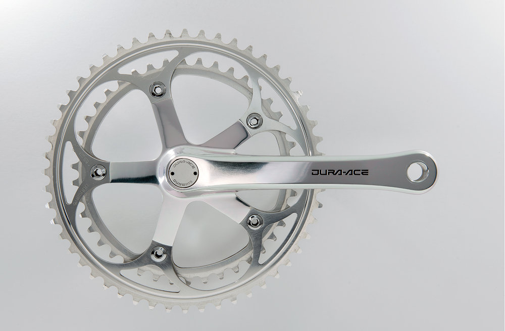 Shimano Dura-Ace 7400  Introduced in 1985 it was the premier racing group of its era