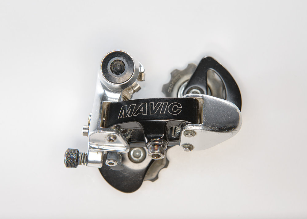 Mavic 840 SSC  It was introduced in 1992 and was compatible with Shimano index shifters.