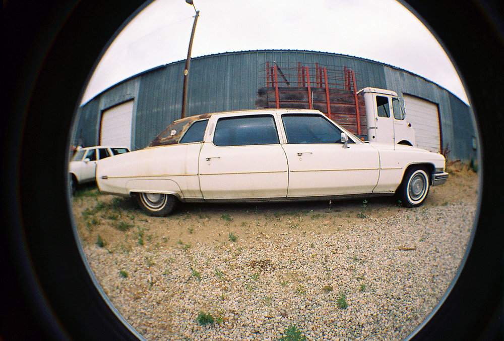Cadillac Limo  Waiting in   Boulder, CO