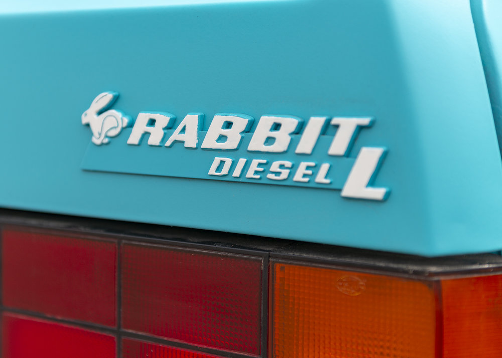 Volkswagen Rabbit Diesel L. Timeless styling by Giorgetto Giugiaro's ItalDesign.
