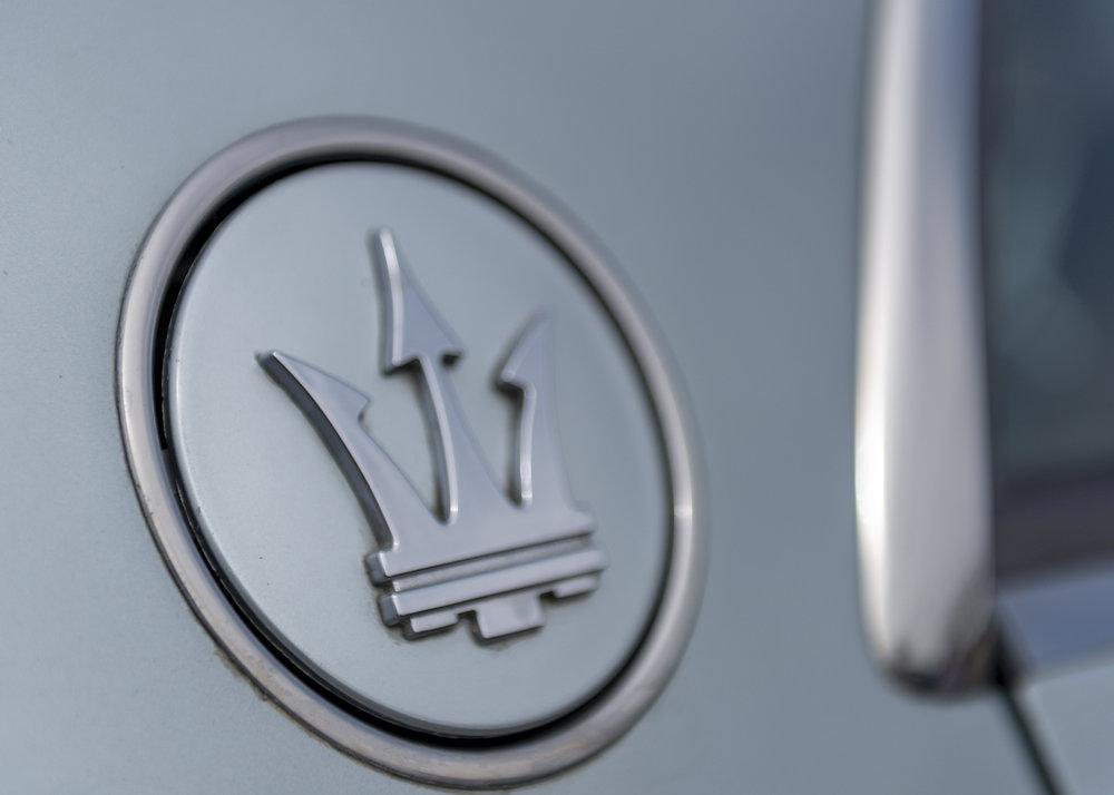 Maserati Badge.