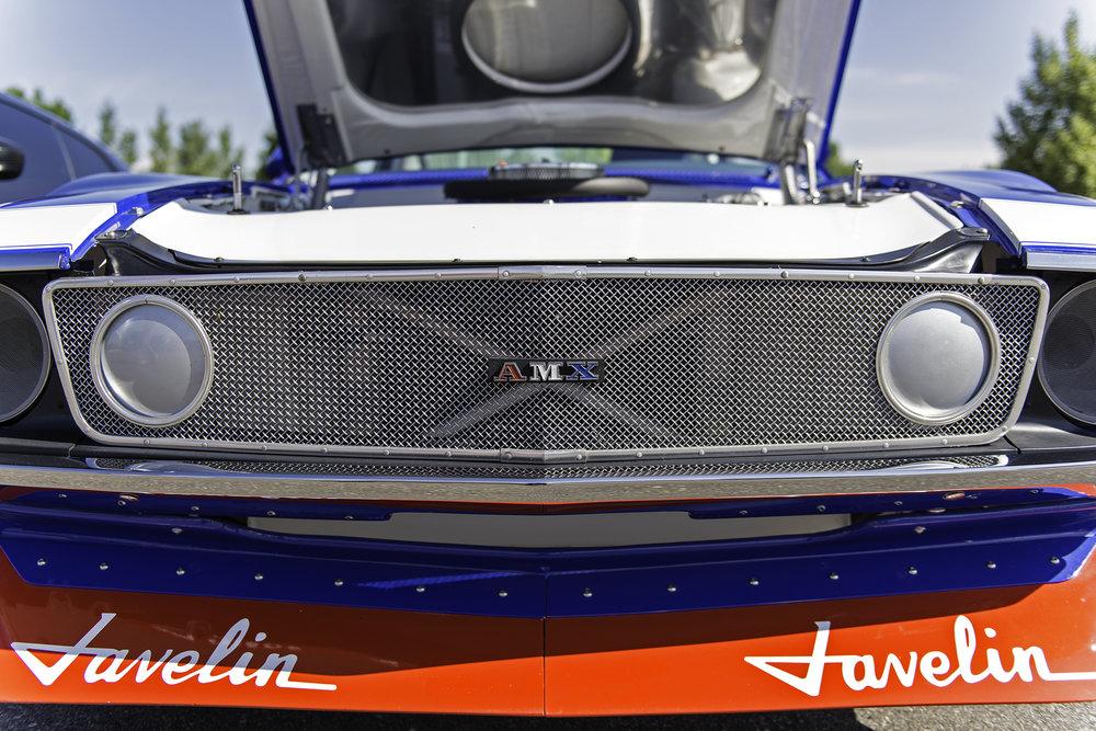 American Motors Corporation AMX Javelin race car replica.