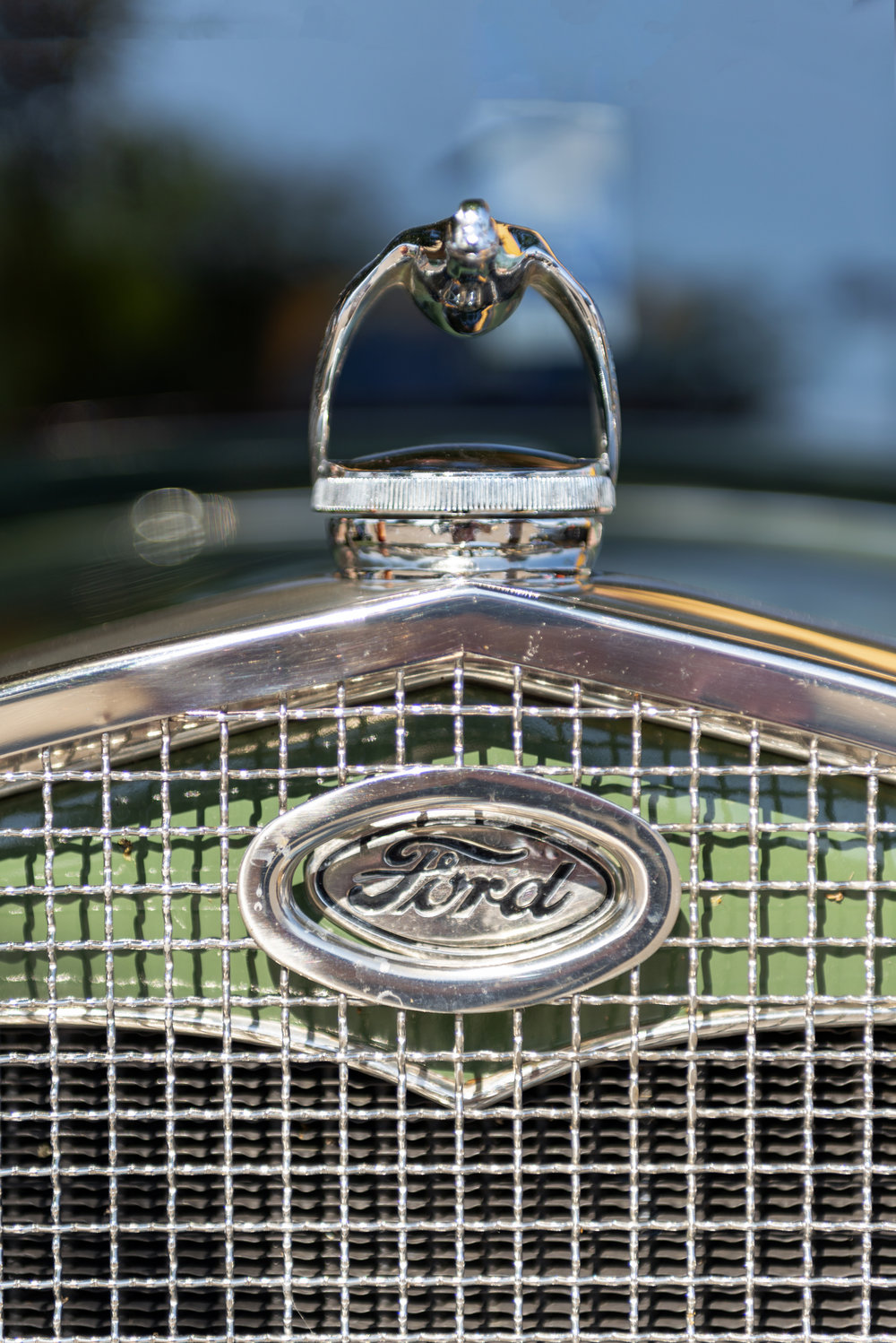 Ford Badge, Grill and Radiator Cap.