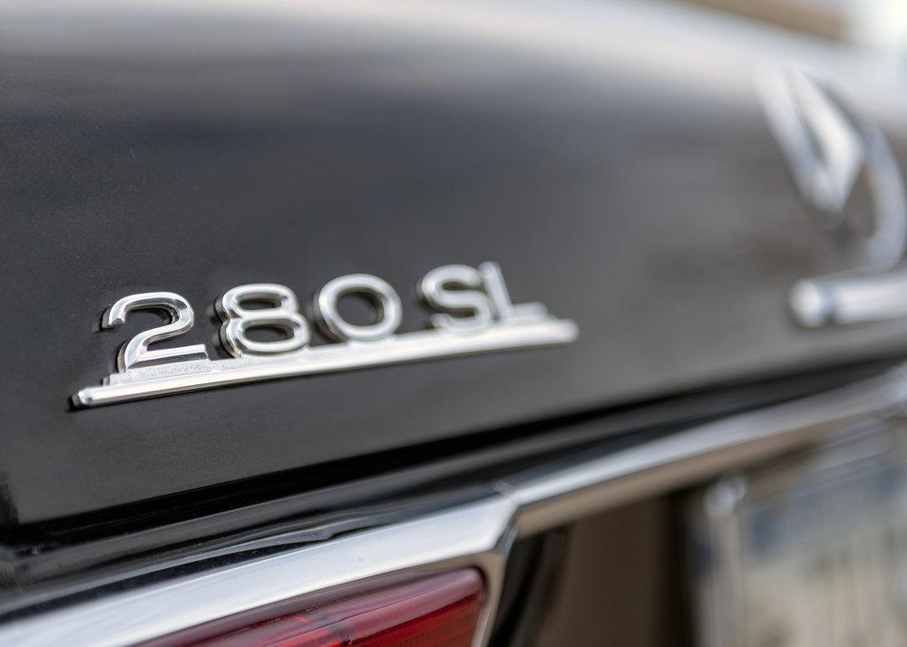 Mercedes Benz 280 SL Trunk Badge.