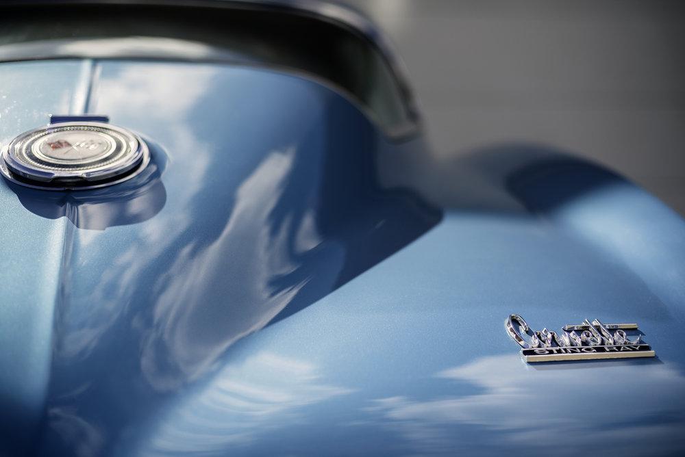 1966 Chevrolet Corvette Stingray.