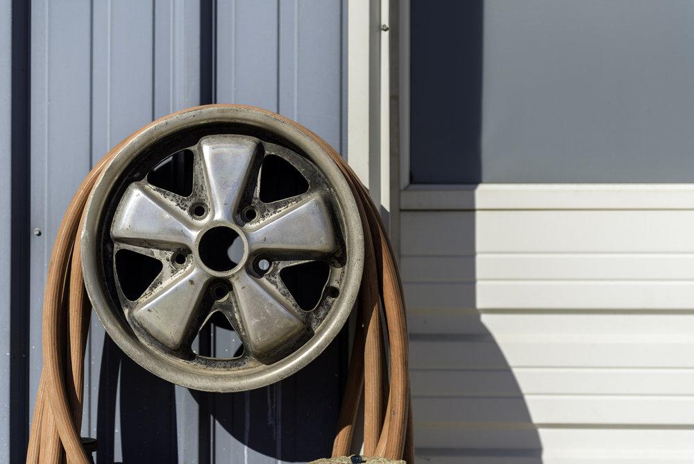 The iconic Fuchs Wheel.