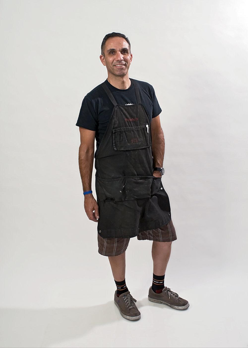 Dwayne  Master Bicycle Mechanic.