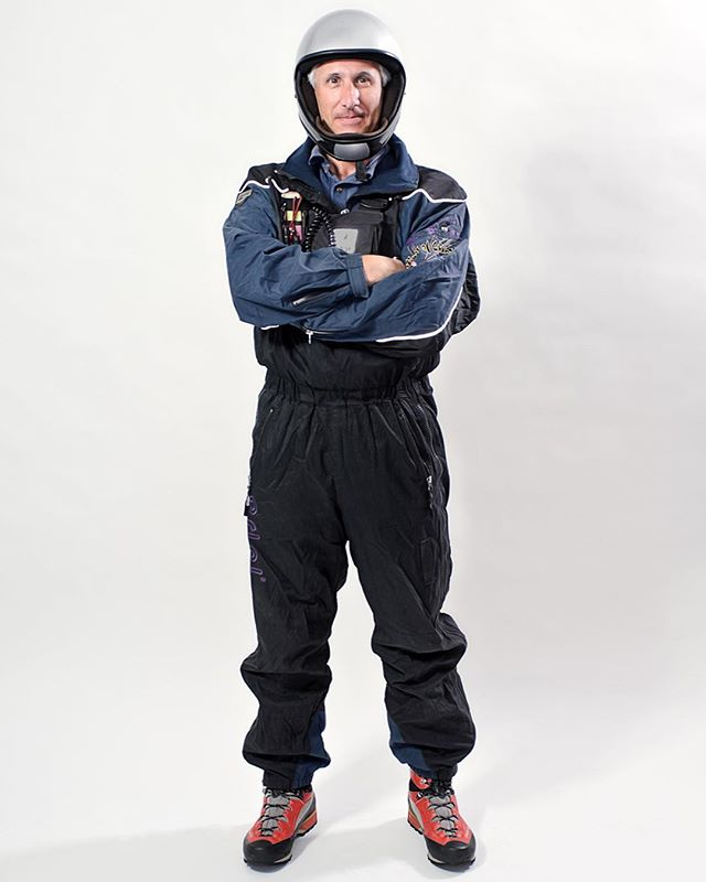 Another favorite of Tim who's a Paraglider Pilot for the What I Wear To Work portrait series. . © Robert D. Jones 2019 . The What I Wear To Work portrait series was inspired by the interesting and unique outfits that some people wear when they work. Everyone was photographed against the same background with standardized lighting so that their personality, pose and outfit would tell the story of what they do. . . #portraitphotography #portraitphotographer #portraits #portraitpage #people #nikon #rdjonesphoto #studio #studiophotography #advertisingphotography #advertisingphotographer #commercialphotographer #commercialphotography #editorial #editorialphotographer #entrepreneur #creative #creativity #hireme