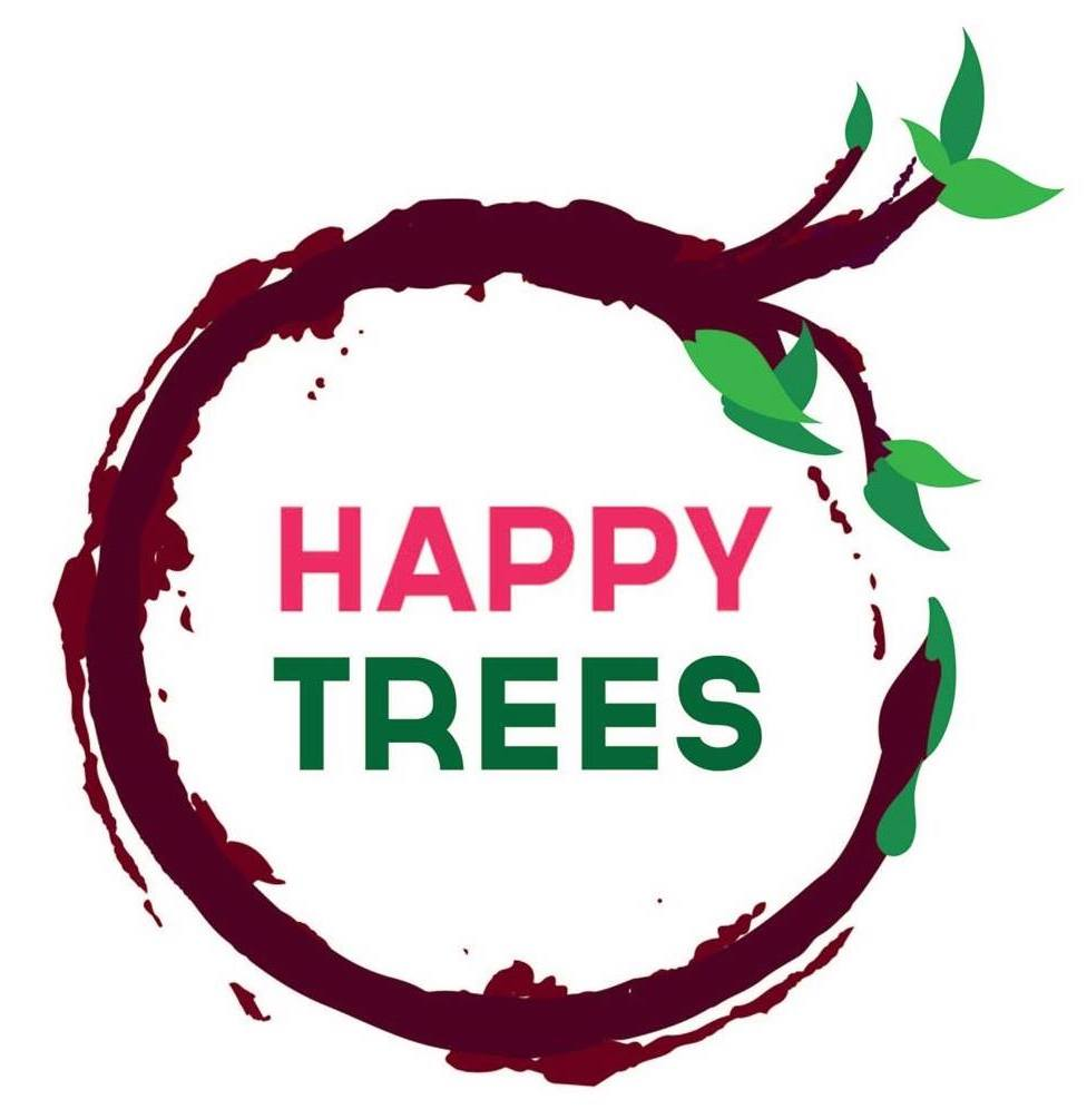 Happy Trees Painting