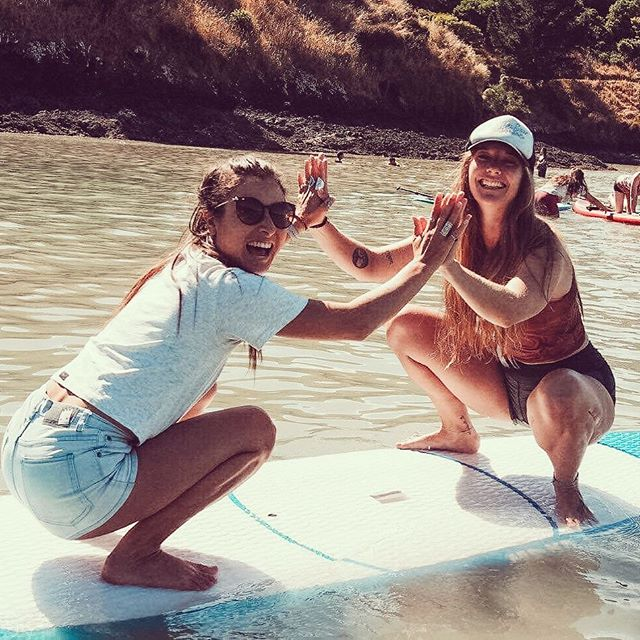 We couldn't think of anything better to do 🤣🤣🤣 #nailedit #supyoga