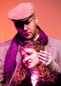 Rodolfo,  La bohème , with Gabrielle DeMers as Mimì