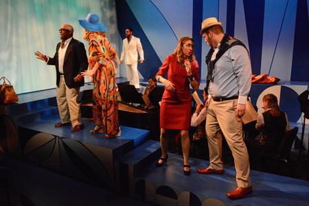 Alberto,  Opportunity Makes The Thief,  Little Opera Theatre of New York, with Julia Radosz as Berenice, Cabiria Jacobson as Ernestina, Eric McKeever as Parmenione, and Marcos Vigil as Eusebio