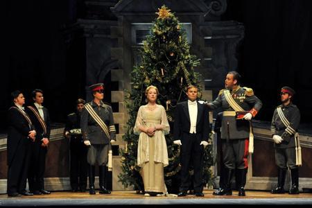 Kronprinz,  Silent Night,  Fort Worth Opera with Ava Pine as Anna Sørensen and Chad Johnson as Nikolaus Sprink