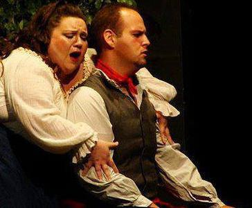 Turiddu,  Cavalleria Rusticana,  Spotlight on Opera, with Sharee Seal as Santuzza
