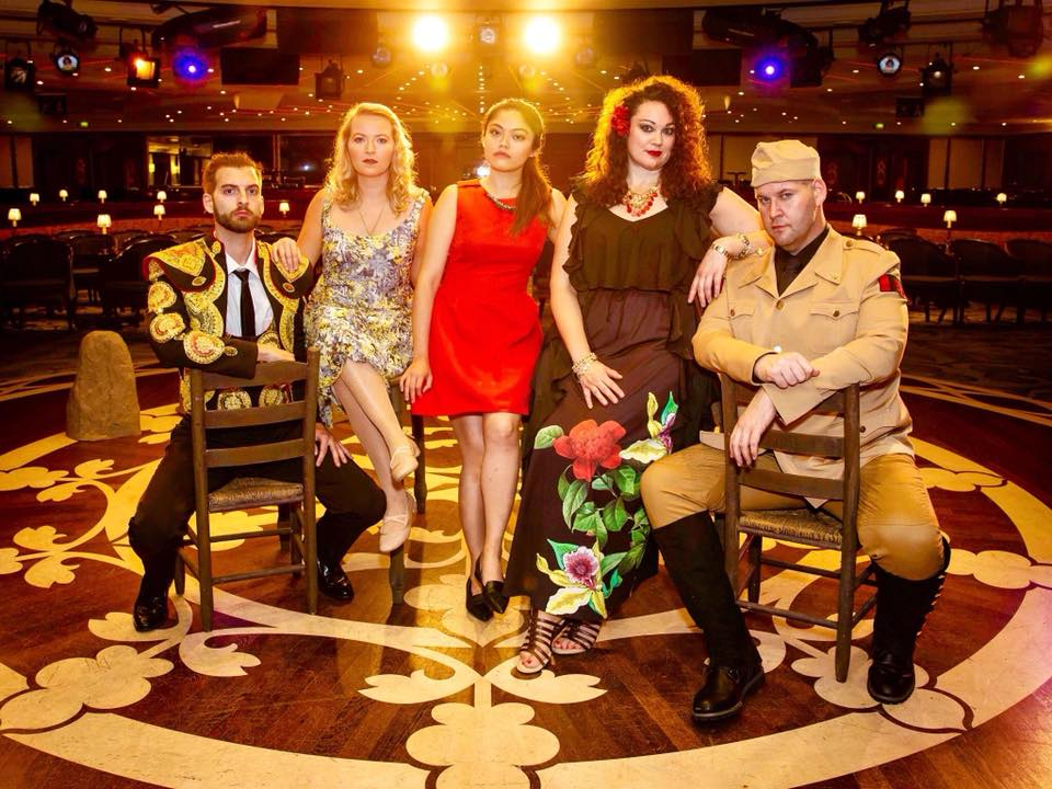 don José,  Carmen,  Opera on the High Seas, Magic City Opera/Azamara Quest. With Brad Baron, Tanya Roberts, Monica Lü, and Heidi Vanderford