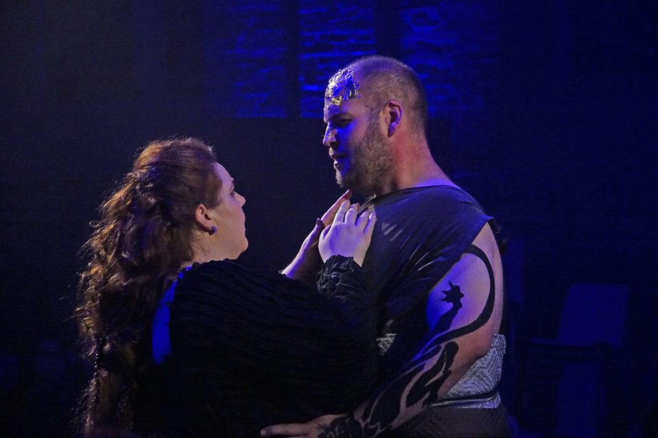 Bacchus, Ariadne auf Naxos, Berlin Opera Academy, with Kelly Lynn Ferguson as Ariadne