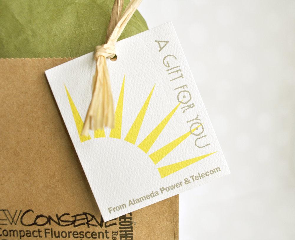 Alameda Power & Telecom Gift Bags