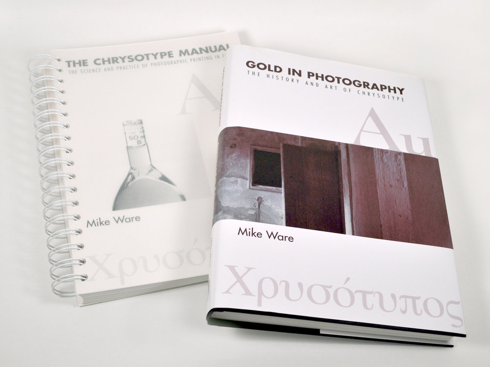 Gold in Photography + The Chrysotype Manual    Covers