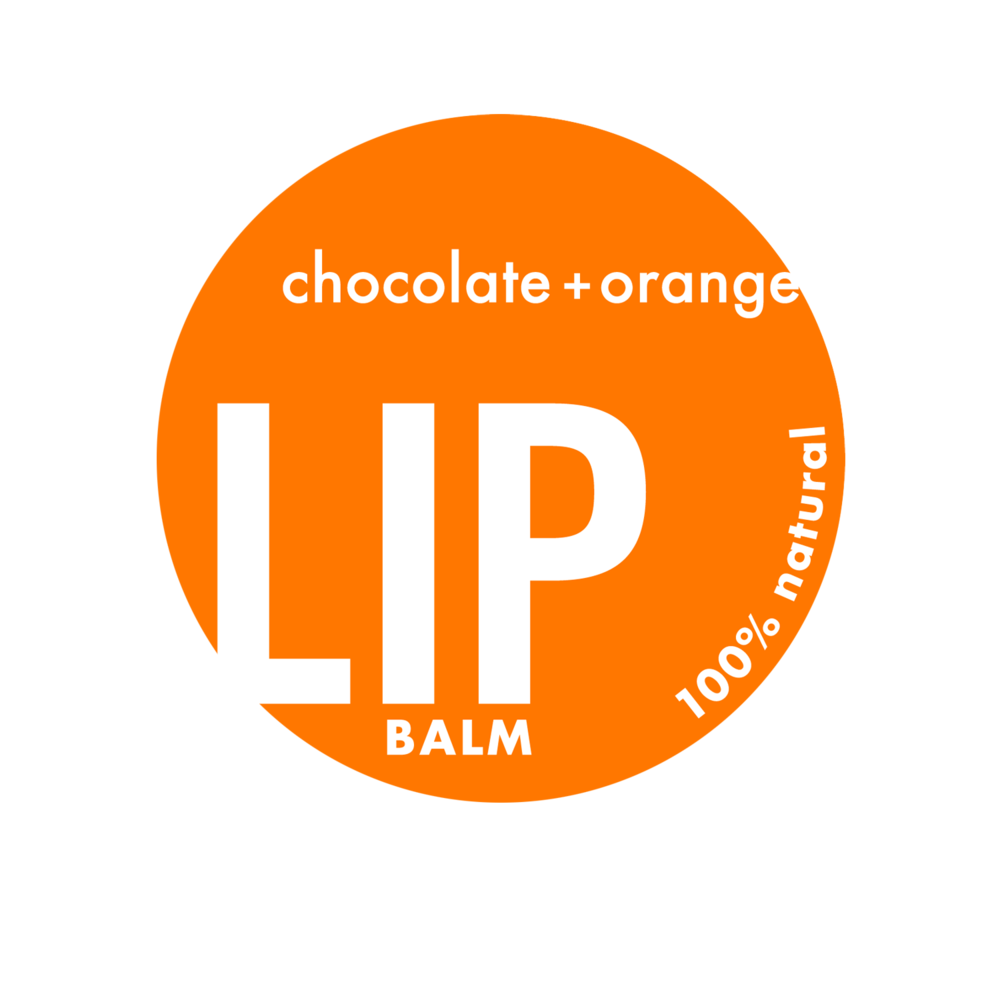 Natural Lip Balm Label Prototype