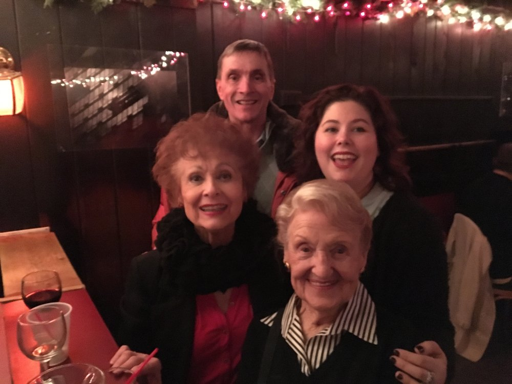 Carol Lawrence, Broadway's original Maria in  West Side Story,  made her first visit to Marie's Crisis last year!