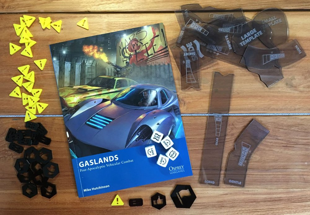 WHAT'S GASLANDS? - No idea what Gaslands is? Visit the Gaslands website to find out more (then come back here to buy some Dashlands cards when you're hooked!)