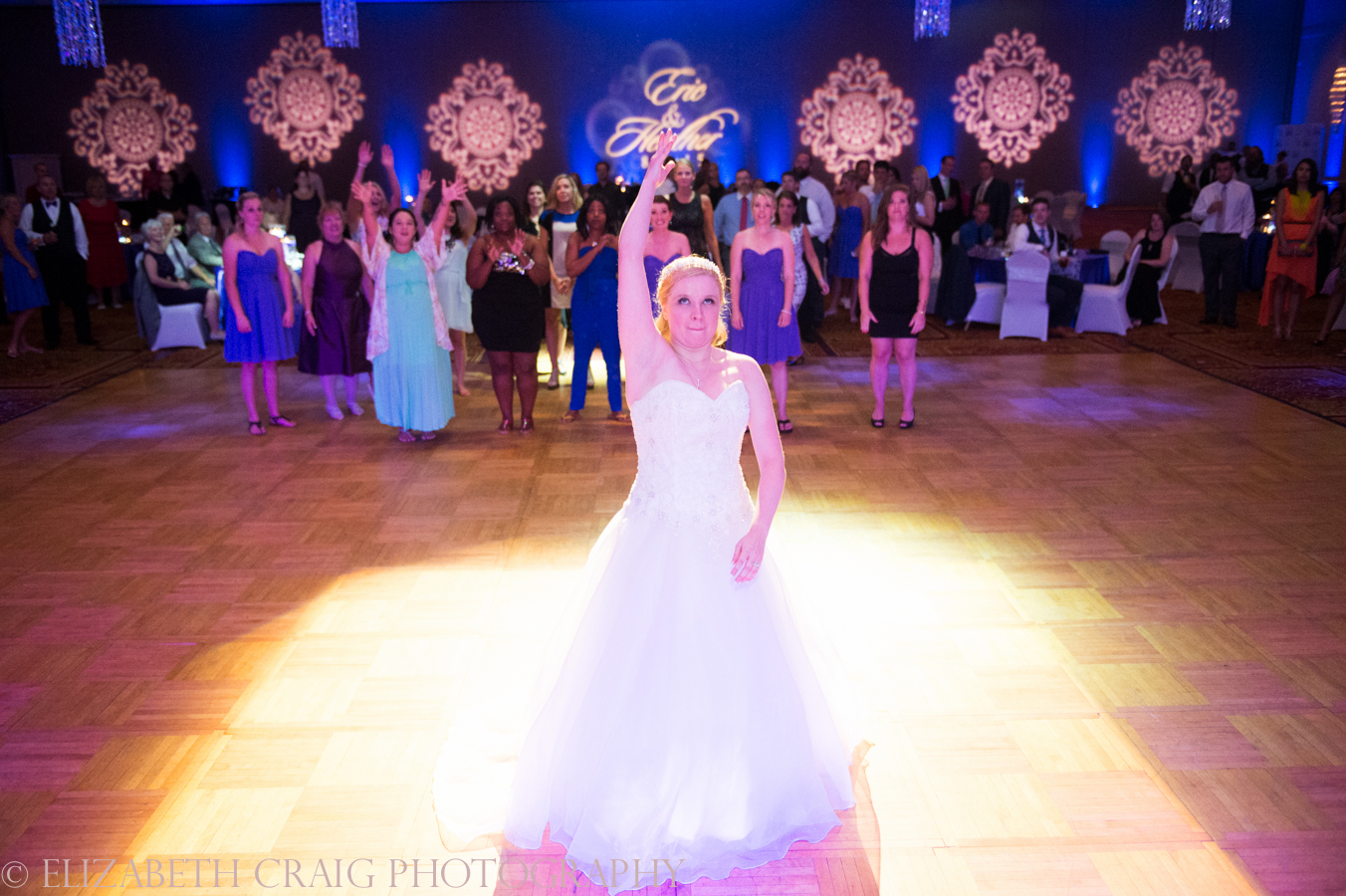 Wyndham Grand Pittsburgh Wedding and Reception Photos -0050