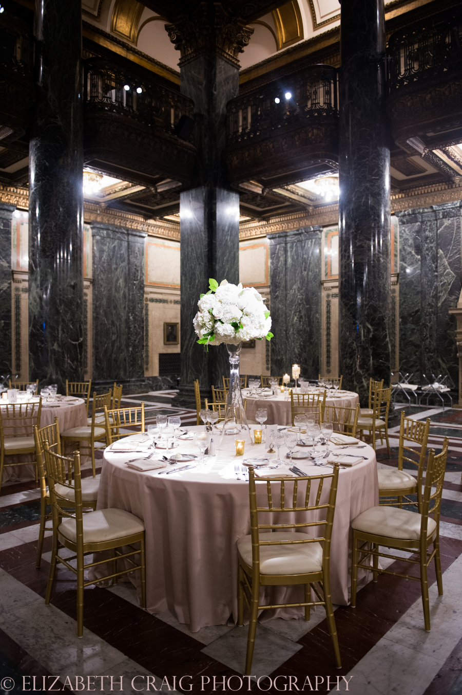 Carnegie Museum Music Hall Foyer Wedding Receptions-0085