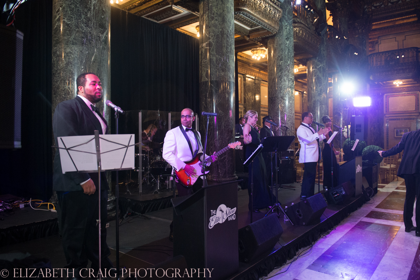 Carnegie Museum Music Hall Foyer Wedding Receptions-17