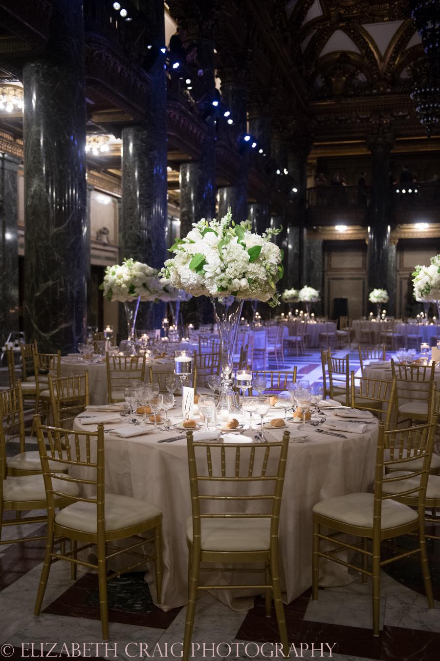 Carnegie Museum Music Hall Foyer Wedding Receptions-2
