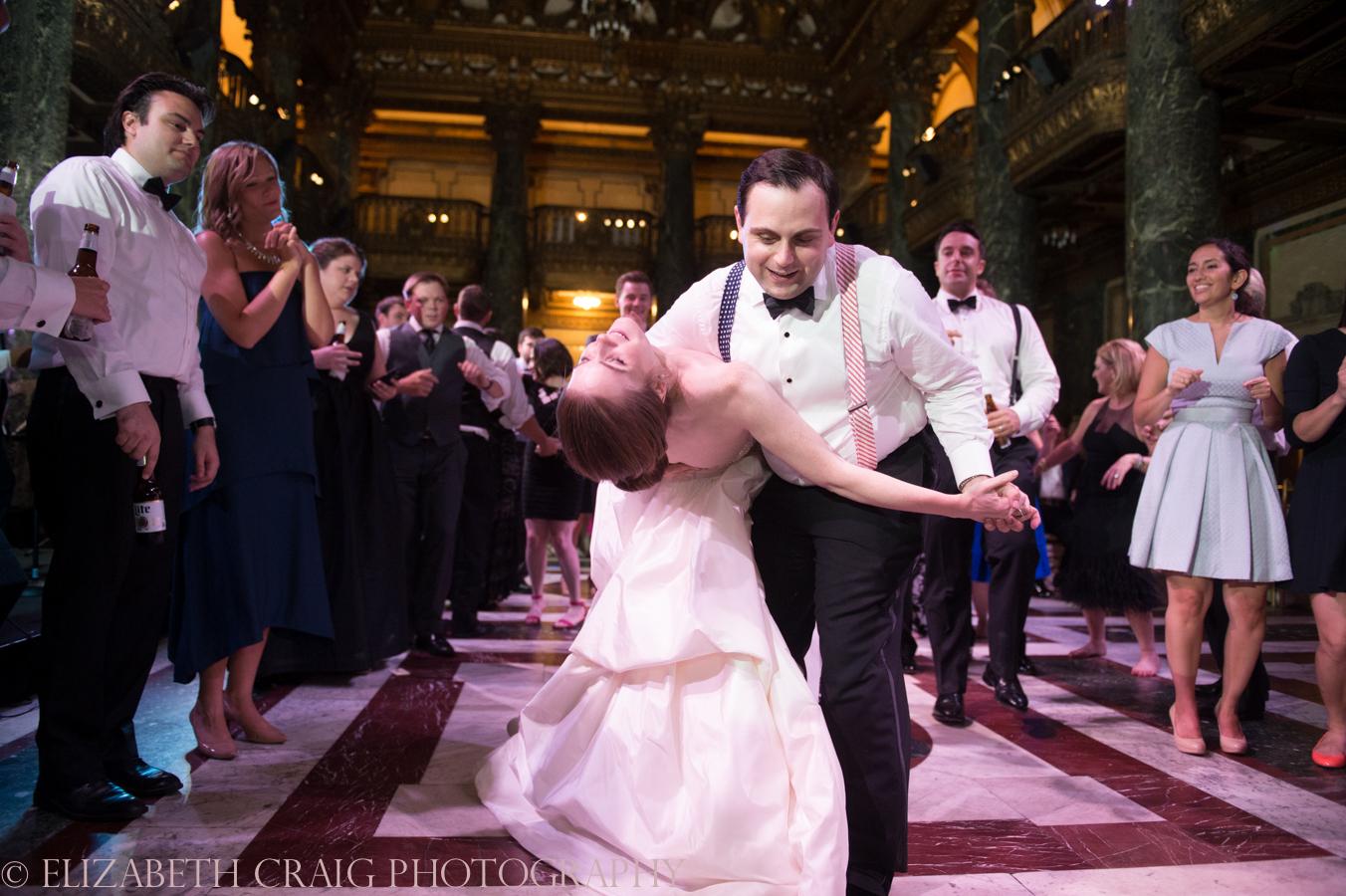 Carnegie Museum Music Hall Foyer Wedding Receptions-90