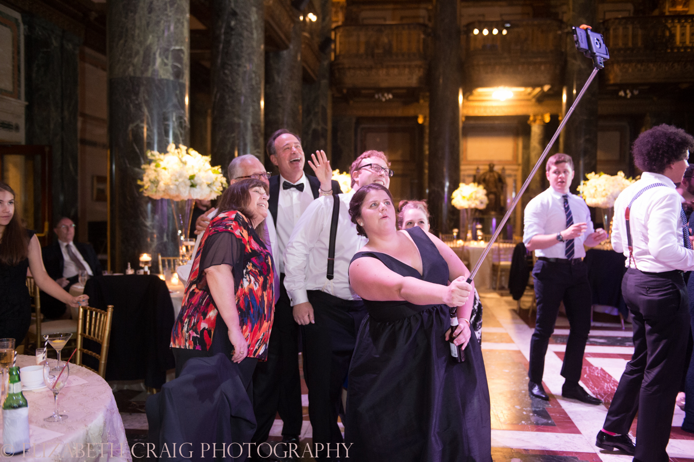 Carnegie Museum Music Hall Foyer Wedding Receptions-98
