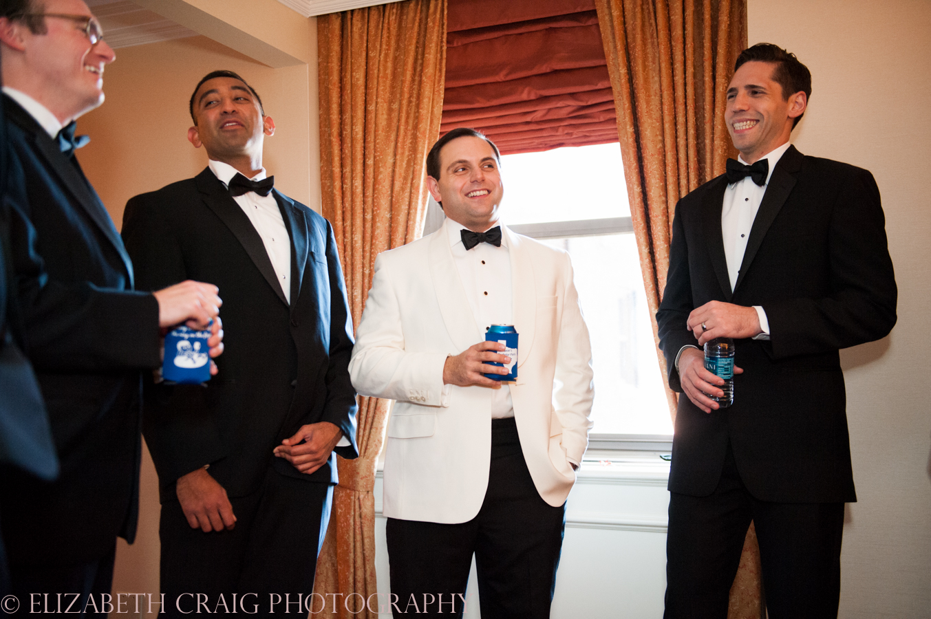 Omni William Penn Getting Ready Wedding Day Photos | Renaissance Suite-17