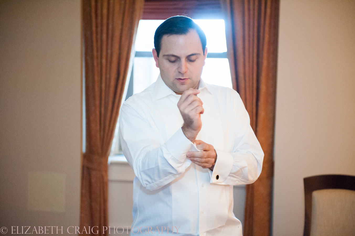 Omni William Penn Getting Ready Wedding Day Photos | Renaissance Suite-2