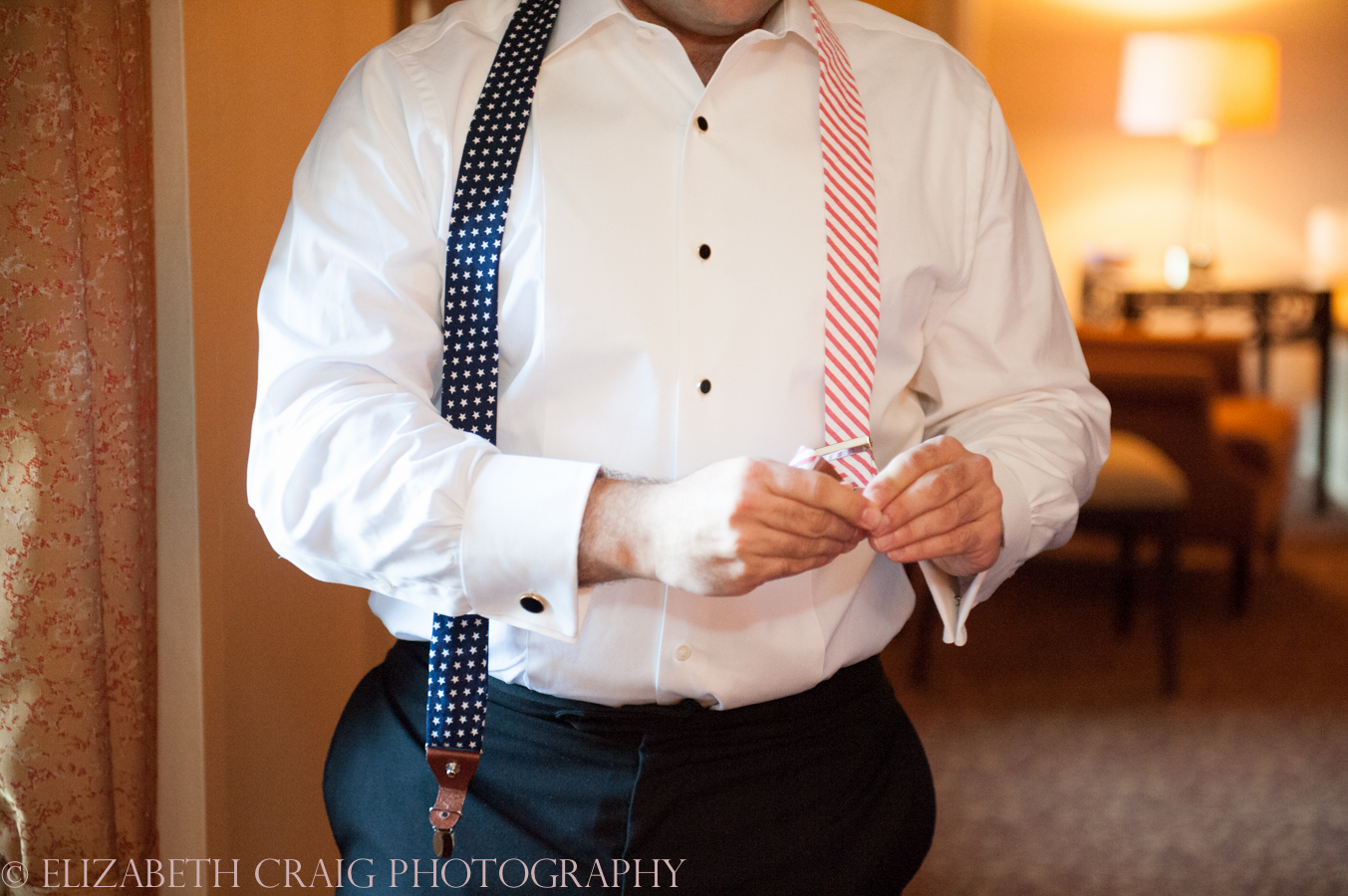 Omni William Penn Getting Ready Wedding Day Photos | Renaissance Suite-4