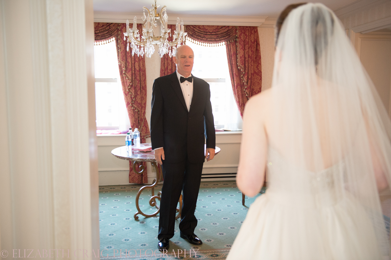 Omni William Penn Getting Ready Wedding Day Photos | Renaissance Suite-40