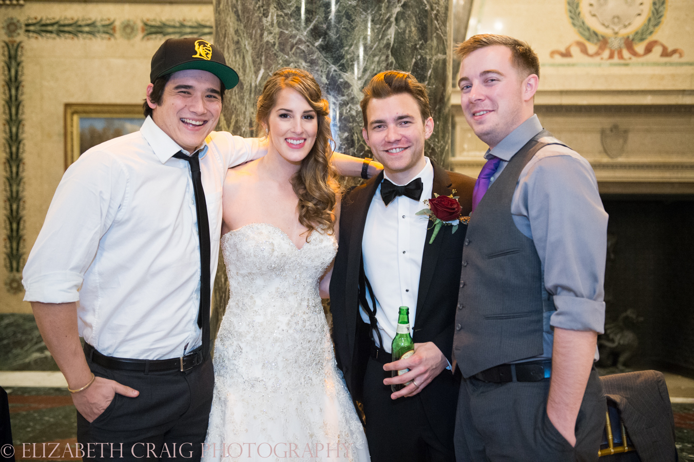 Carnegie Museum of Art Weddings | Elizabeth Craig Photography-0129