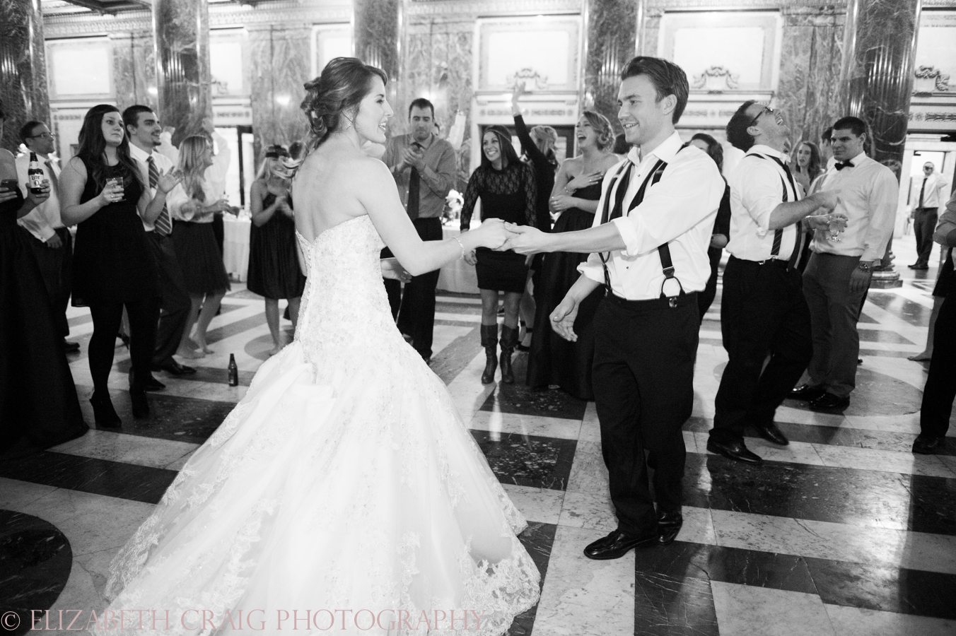 Carnegie Museum of Art Weddings | Elizabeth Craig Photography-0179