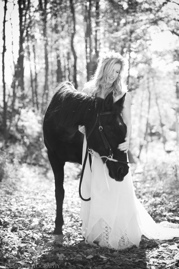 Bride with Horse-0003