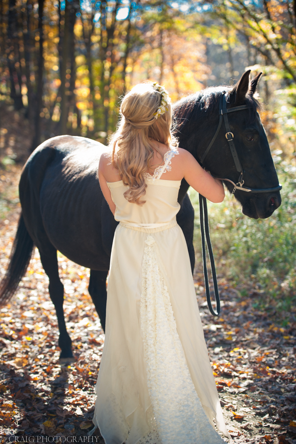 Bride with Horse-0006