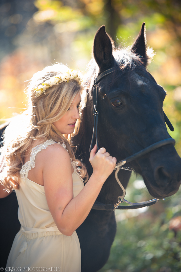 Bride with Horse-0007
