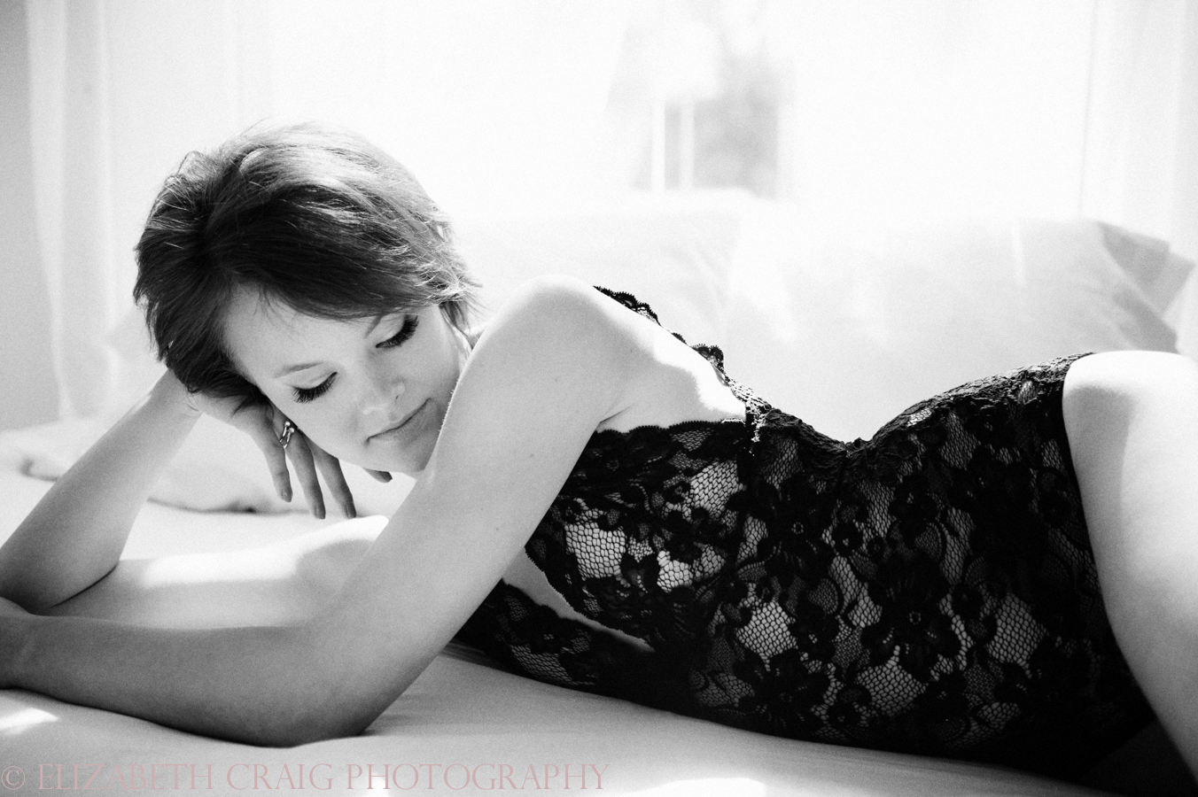 Black and White Boudoir Photography Pittsburgh-0001