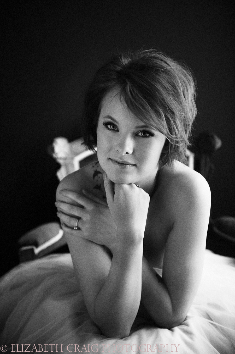 Black and White Boudoir Photography Pittsburgh-0004