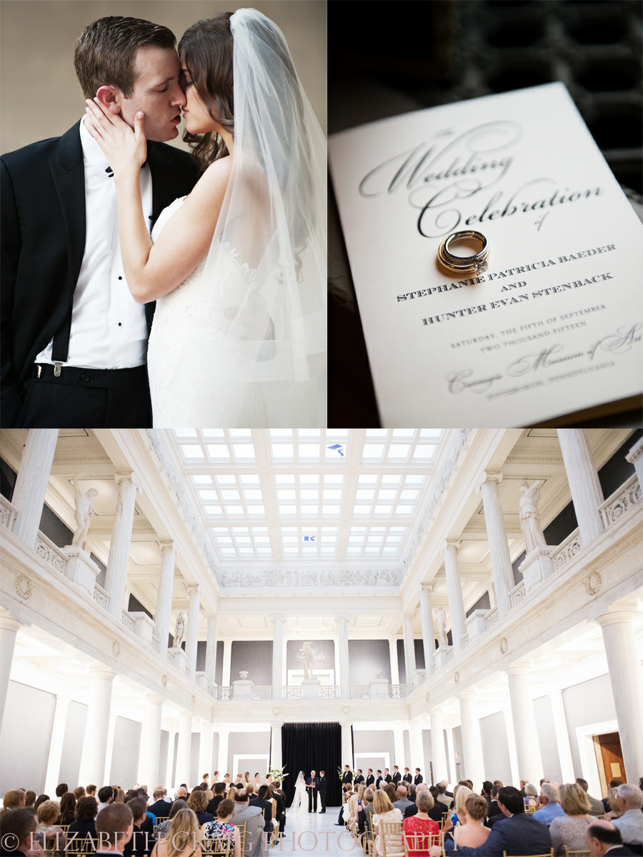 Pittsburgh Carnegie Museum Hall of Sculpture Weddings | Music Hall Foyer Wedding Receptions-0001