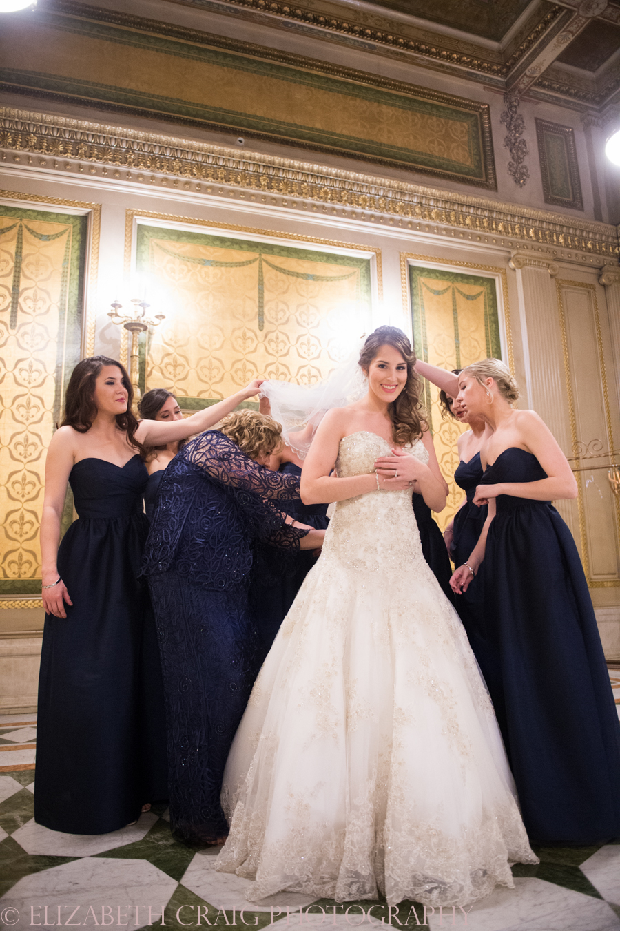 Carnegie Museum of Art Weddings | Elizabeth Craig Photography-0030