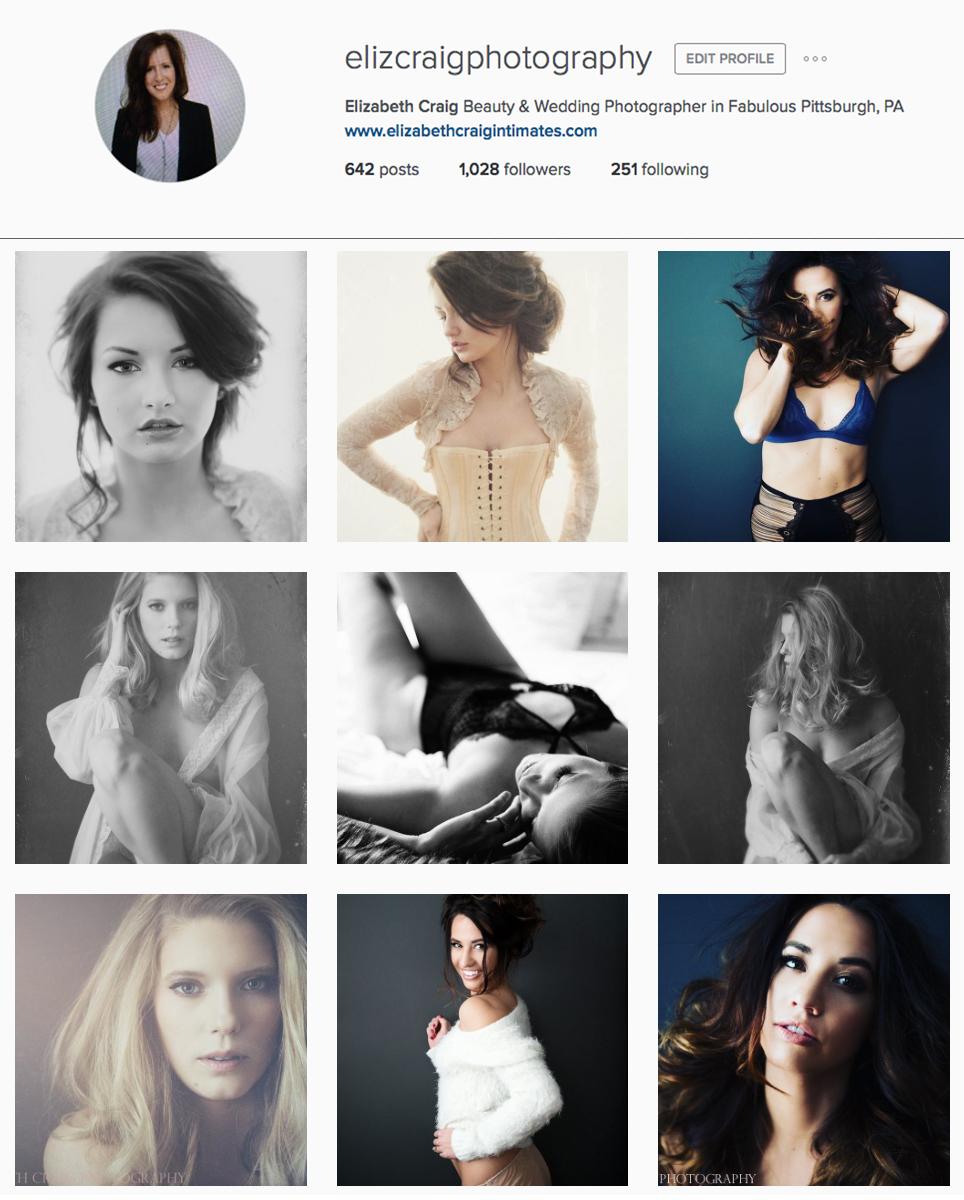 Elizabeth Craig Photography Instagram